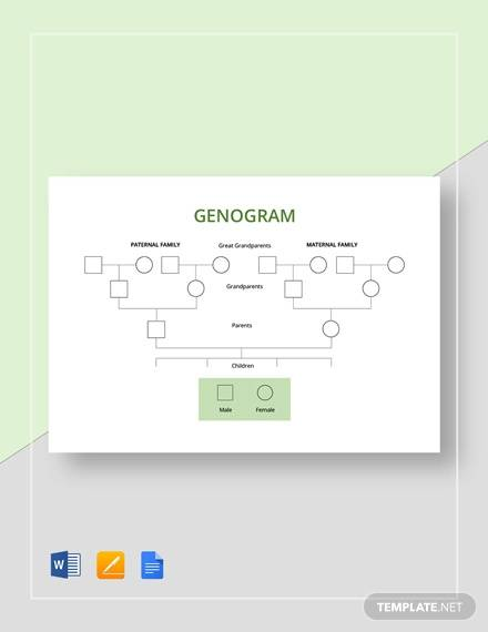 Free 25 Genogram Templates In Pdf Google Docs Ms Word Pages