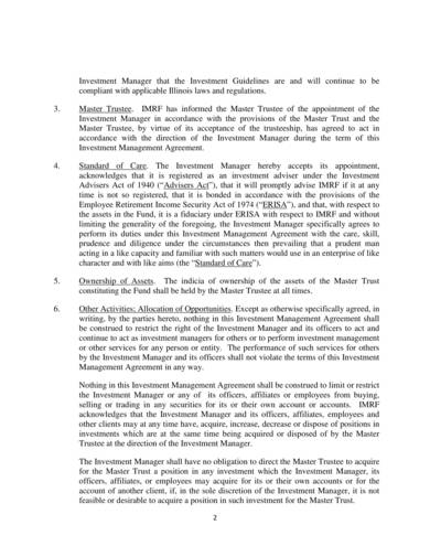 sample investment manager agreement 02