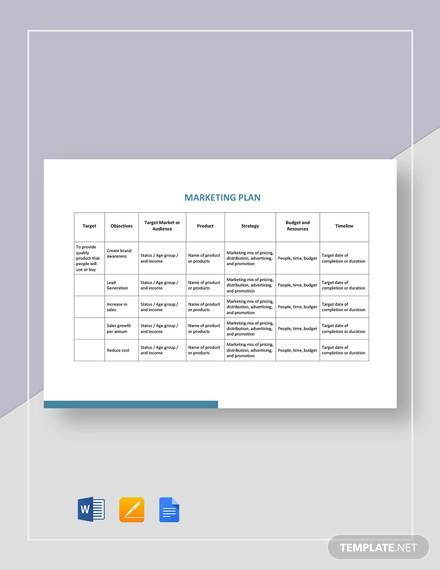 Integrated Marketing Communications Plan Template from images.sampletemplates.com