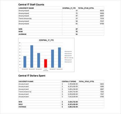 trent university strategic it plan sample template