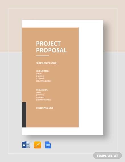 Sample Project Proposal - 20+ Documents in Word, PDF