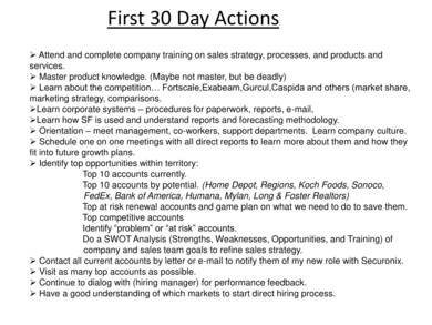 30 60 90 day business plan sample 03