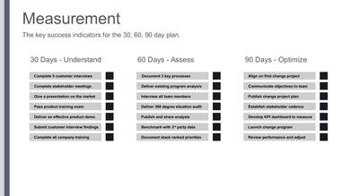 30 60 90 day plan sample template 08