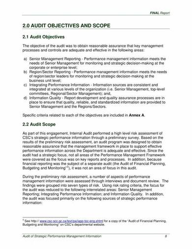 hr internal audit report