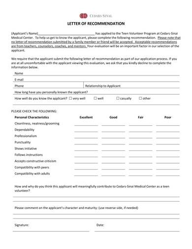 Letter-of-Recommendation-Template-for-teen-Volunteer-Program Volunteer Letter Of Recommendation Template on volunteer thank you template, volunteer reference letter template, volunteer application template, volunteer essay template, volunteer release form template, volunteer liability waiver template, volunteer contract template, volunteer letter of appreciation template, volunteer calendar template, volunteer certificate template, volunteer portfolio template,
