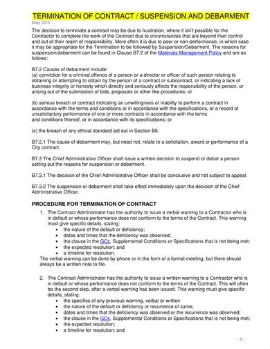 sample contract termination cancellation letters 01