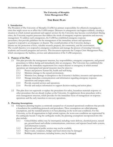 sample crisis management plan