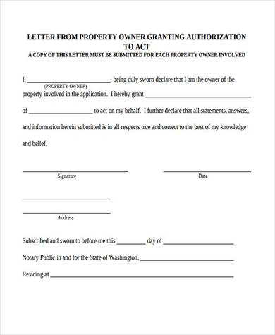 sample property ownership transfer letter