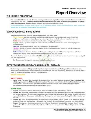 sample residential buliding inspection report 03