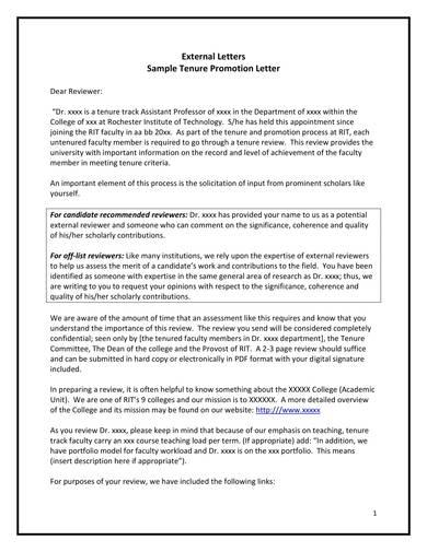 sample tenure promotion letter