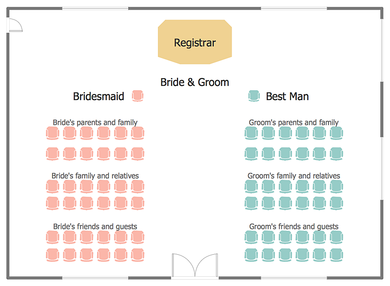 wedding seating chart sample template