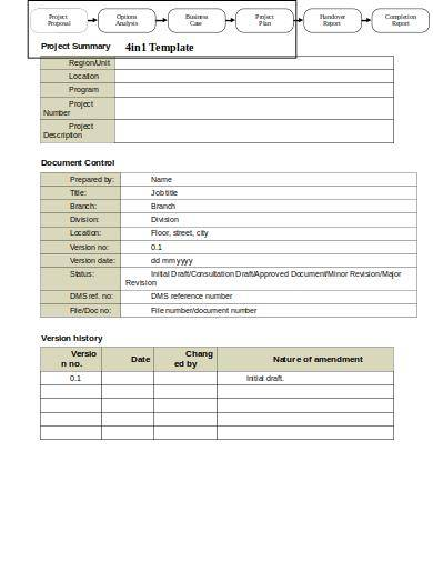 business case project proposal template