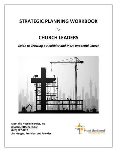 church strategic planning workbook sample