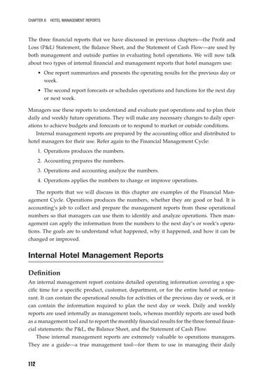 monthly hotel management report sample 02
