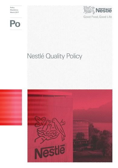 nestlé quality policy sample