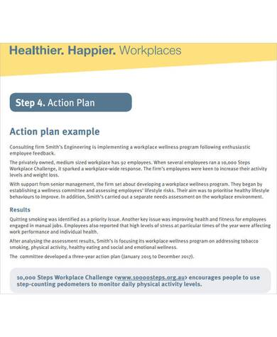 post training action plan template 1