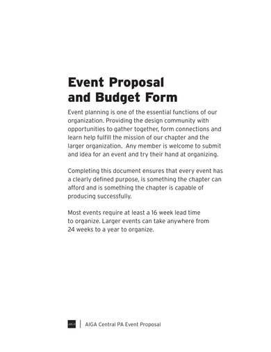 sample event proposal and budget form 1