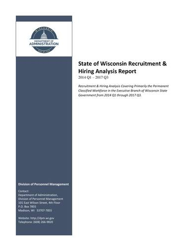sample recruitment and hiring analysis report 01
