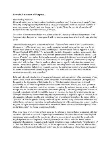 sample statement of purpose for graduate study