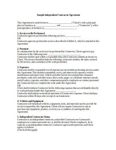standard contractor confidentiality agreement template