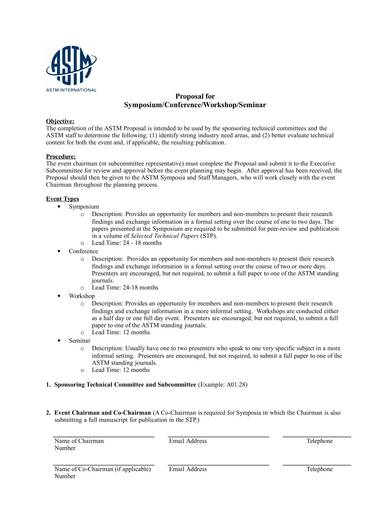 symposim event planning proposal form 1
