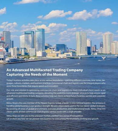 advanced multifaceted trading company profile sample