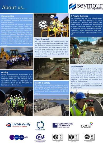 civil engineering company profile sample