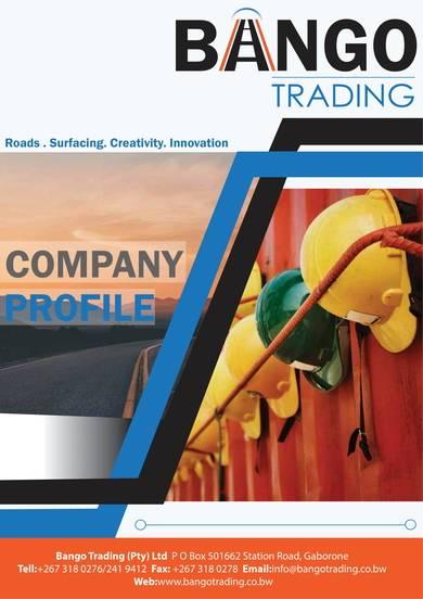 civil works compnay profile sample