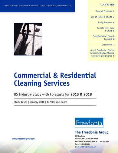 commercial residential cleaning company profiile sample