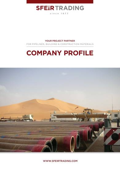 construction and trading company profile sample