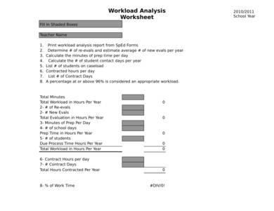 editable workload analysis worksheet 1