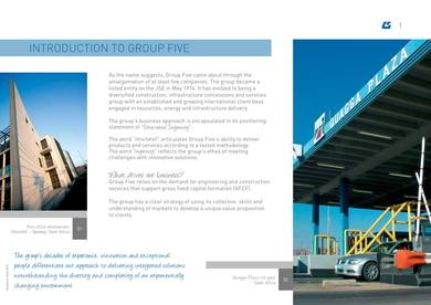 engineering and construction company profile sample