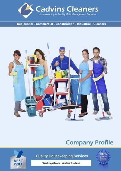 housekeeping company profile sample