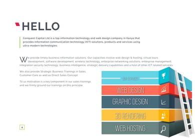 ict company profile sample