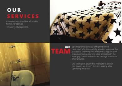 modern real estate company profile presentation