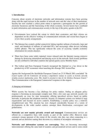 network and information security proposal sample 03