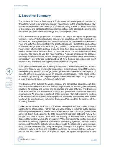 printable nonprofit business plan sample