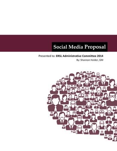 printable social media proposal sample
