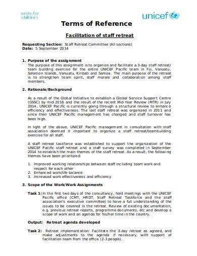 proposal for a consultancy contract standard format sample