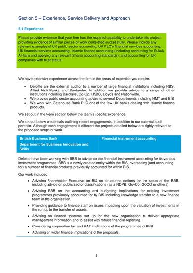 sample accountancy tax consultancy proposal