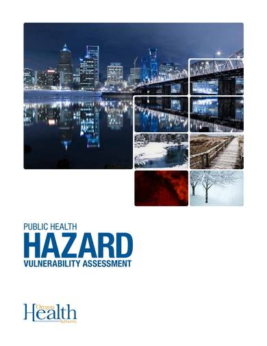 sample public health hazard vulnerability analysis