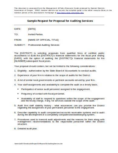 sample request for proposal for accounting auditing services