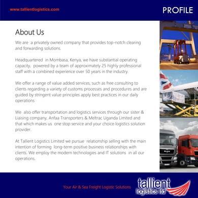 FREE 9+ Transport Company Profile Sample | PDF