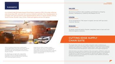 third party logistics company profile sample