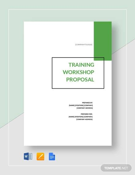 Training Proposal Template - 13+ Free Word, PDF Format Download