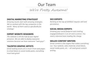 website design company profile sample 10