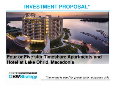 apartment and hotel investment proposal