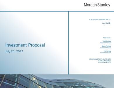 comprehensive investment proposal sample