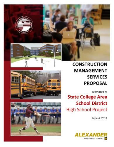 construction management service proposal