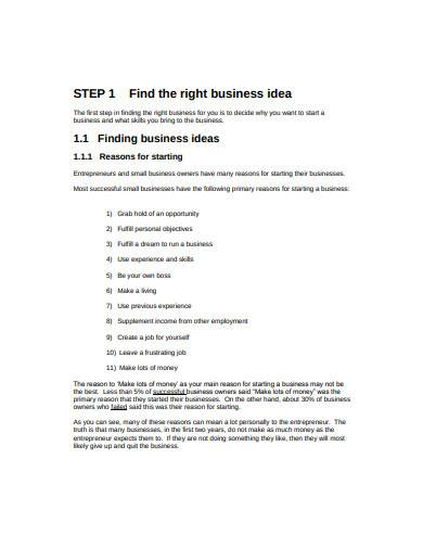 contractor business plan in pdf